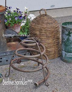 Beehive Sprinkler Garden Shop, Lawn And Garden, Garden Art, Garden Tools, Garden Cottage, Leafy Plants, Big Plants, Small Gardens, Outdoor Gardens