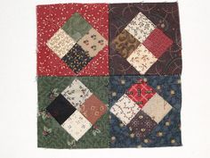 Heartspun Quilts ~ Pam Buda: Pocket Patchwork ~ Orphans & Scraps ~ Part Two