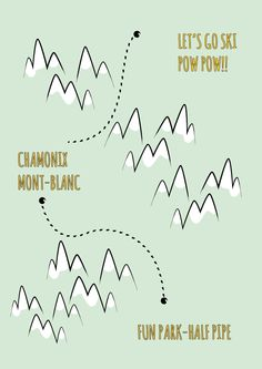 Just Bo Mountains Poster available in our shop www.studiobandit.com