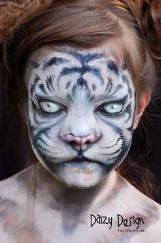 Check out this inspiring Children's Makeup For Halloween by New Zealand artist Christy Lewis and her Daizy Design Face Painting. Adorable animals and more. Animal Face Paintings, Animal Faces, Kids Makeup, Makeup Art, Fairy Makeup, Mermaid Makeup, Face Painting Designs, Body Painting, Maquillage Halloween