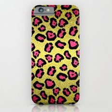 Case for Iphone - Glitters Pink Leopard Pattern - by Cool Iphone Cases, Leopard Pattern, Pink Leopard, Tech Accessories, Glitters, Iphone 6, Art Prints, Ipod, Design