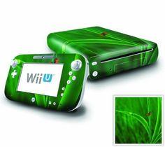 Nintendo Wii U Console and GamePad Decal skin Sticker - Ladybug Friends