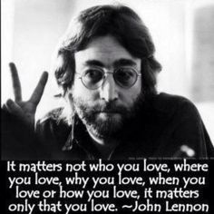 One of the most gifted songwriters of all time, Lennon and the Beatles are credited with changing the landscape of rock music forever. Also a peace activist and artist, Lennon was fatally shot at age 40 by an obsessed fan. Citation John Lennon, John Lennon Quotes, Ringo Starr, We Are The World, In This World, John Lenon, Foto Poster, Les Beatles, Beatles Quotes