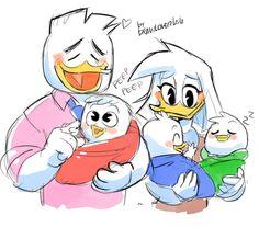 Happy Family :) {Ducktales 2017} by Drawloverlala