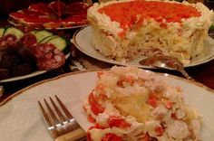 Chicken Cheese and carrot salad