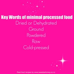 Minimal processed food #quote #healthquote #foodquote #food #nutrition