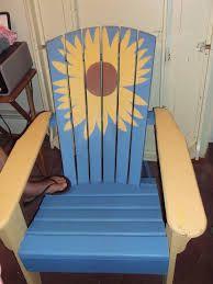 sunflower muskoka chair - Google Search