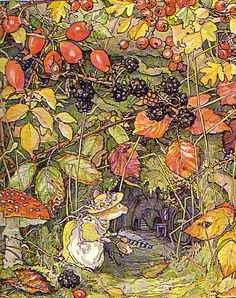 brambly hedge. love these books and tea cups