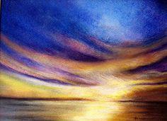 Galerie Zyklus Landschaften • Künstlerin Elisabeth Bunka-Peklar Waves, Outdoor, Landscapes, Outdoors, Ocean Waves, Outdoor Games, The Great Outdoors, Beach Waves, Wave