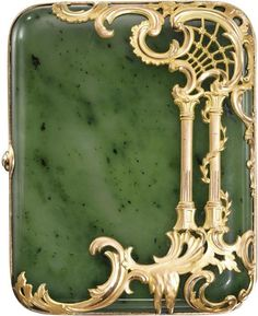 Not really jewelry.....cigarette case, 1890