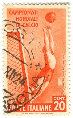 italy-world-cup-soccer-stamp-1934 by karen horton, via Flickr