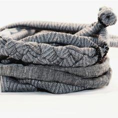 «Headband Scarf Swarovski elements Шарф ожерелье 100% шерсть,100% лен, 100% хлопок  Чешский бисер, кристаллы #totprototype #prototype #accessories #bowtie…»