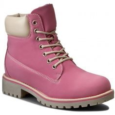 Trapery JENNY FAIRY - WS722-6 Różowy Hipster Shoes, Timberland Boots, Trekking, Fairy, Fashion, Moda, Fashion Styles, Fashion Illustrations, Hiking