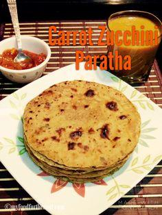 Carrot Zucchini Paratha