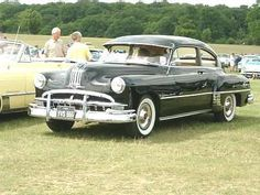 1949 Pontiac: The first car I remember our family owning. My Dad drove us from Virginia down to Alabama in it. That was a long, long trip in the 50's and hot.