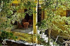 A secret balcony in #Dhour_Al_Choueir  بلكون صغير مخبا بين الشجر By Jack Sakabedoyan  #Lebanon #WeAreLebanon