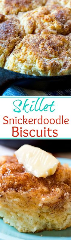 Snickerdoodle Biscuits Skillet Snickerdoodle Biscuits- so light and fluffy!Skillet Snickerdoodle Biscuits- so light and fluffy! Cast Iron Skillet Cooking, Iron Skillet Recipes, Cast Iron Recipes, Skillet Meals, Skillet Food, Breakfast Recipes, Dessert Recipes, Dinner Recipes, Brunch Recipes