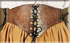 Renleather.com Spirals Waist Cincher $120.00 A motif going back as far as 25,000 B.C.E., the spiral design is associated with nature (shells, horns, nests), spirituality (the inner journey to enlightenment or rebirth) and magic.