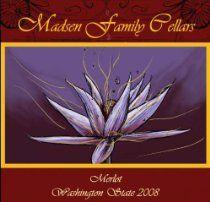 2008 Madsen Family Cellars Washington State Merlot 750 mL #wine #winelabels #redwine #whitewine