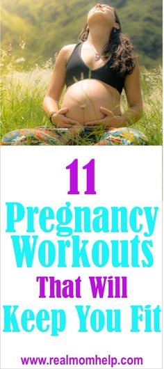 Are you worried about what pregnancy will do to your body? Try these pregnancy workouts to help you keep fit and in shape.