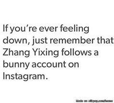 Me:*check Lay's Instagram* OH what a luck bunny. | allkpop Meme Center