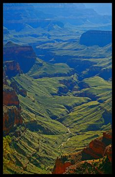 view from the Walhalla Overlook, Grand Canyon National Park, Arizona