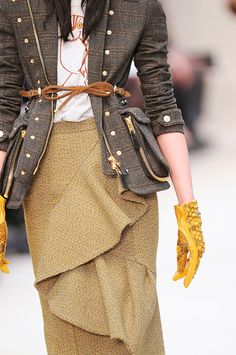 love the jacket. the details!  - burberry prorsum fall 2012