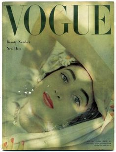 British Vogue, August 1948, Beauty Number.