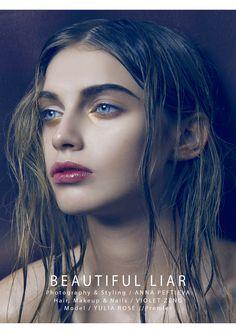Beautiful Liar - Photography & Styling / Anna Peftieva Hair, Makeup & Nails / Violet Zeng Model / Yulia Rose // Premier