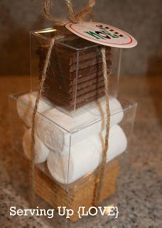 """Holiday Gift Idea: S'more Kit - """"looking forward to working with you s'more"""""""