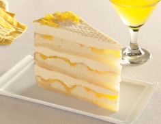 Three layers of genoise cake baked with a thick swirl of intense lemon curd and soaked in Limoncello, an Italian lemon liqueur, topped with clouds of rich mascarpone cream and a sprinkle of candied lemon peel. Pre-sliced, serves 14, $52