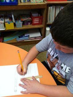 Handwriting: Spacing ideas