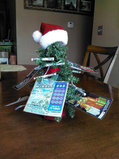 My white elephant gift--a money tree!