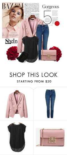 """""""SheIn 9/VII"""" by emina-095 ❤ liked on Polyvore featuring Topshop and shein"""
