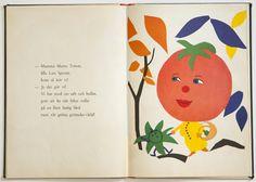Grönsakslandet by Kerstin Bertoft, 1954. Via Fine Little Day.