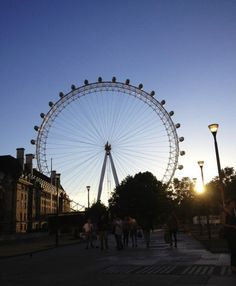 London Eye in Summer