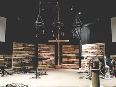 265 Best Church stage images in 2019 Church Lobby, Church Foyer, Youth Room Church, Church Interior Design, Church Stage Design, Kirchen Design, Youth Group Rooms, Youth Ministry, Youth Decor