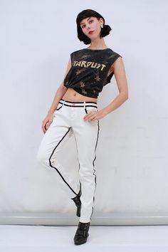 db8cdaba6d SASS   BIDE White Soft Stretch Denim Jeans Pants Size 28 AUS 10 S BNWT RRP