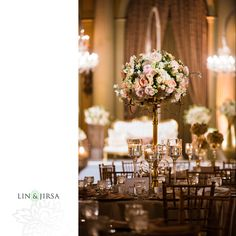 Millennium Biltmore Hotel Wedding Reception | Rashida