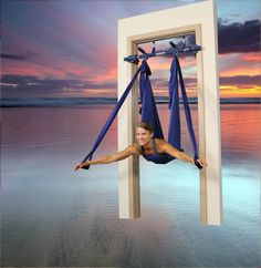 Get away on our yoga swing!