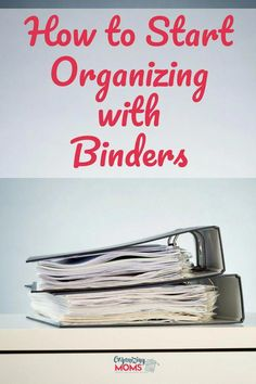 How to Organize Your Paperwork With Binders || binder organization | paper organization | time management tips | binder organization printables | organization ideas for the home | organize | declutter | #organize #binders #paperorganization #organizingyourhome #Homeofficeideas