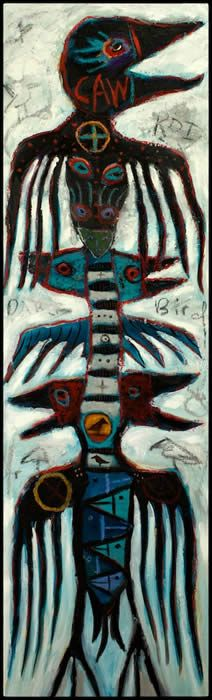 """The Great CAWWWWW""  by Kelly Moore of Santa fe New Mexico"