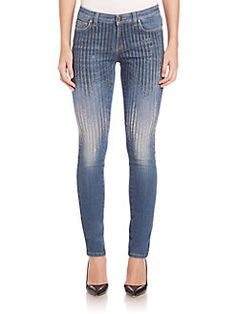 Versace Collection - Sequin Skinny Jeans
