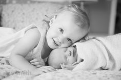 newborn with sibling photography - Google Search