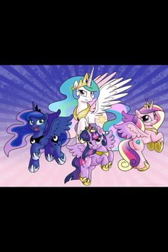 ALICORN !! Princesses !!