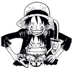 One Piece | Monkey D Luffy | Child