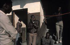 Alex Webb, Haitian migrant worker, 1988