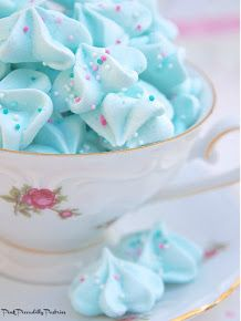 Cotton Candy Meringues