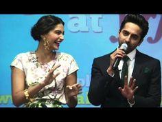 Bewakoofiyaan Movie   Ayushmann Khurrana, Sonam Kapoor   Press Conference