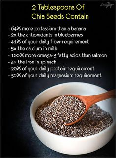 Health Benefits of Chia Seeds Weight Loss Meals, Health Diet, Health And Nutrition, Child Nutrition, Healthy Tips, Healthy Choices, Healthy Lunches, Eating Healthy, Chia Benefits
